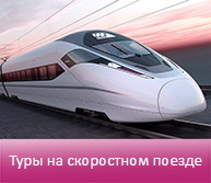 Туры на скоростном поезде